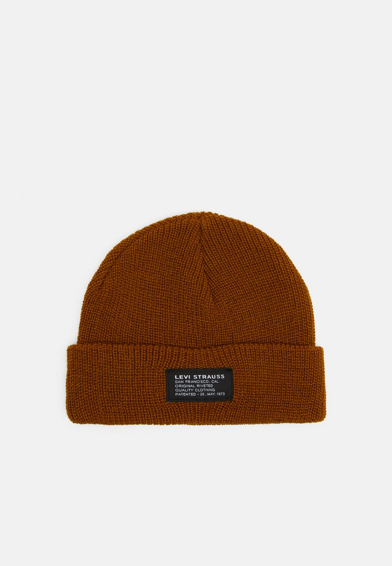 Levi's® - CROPPED BEANIE UNISEX - Beanie - regular yellow