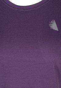 Active by Zizzi - Camiseta básica - purple - 4