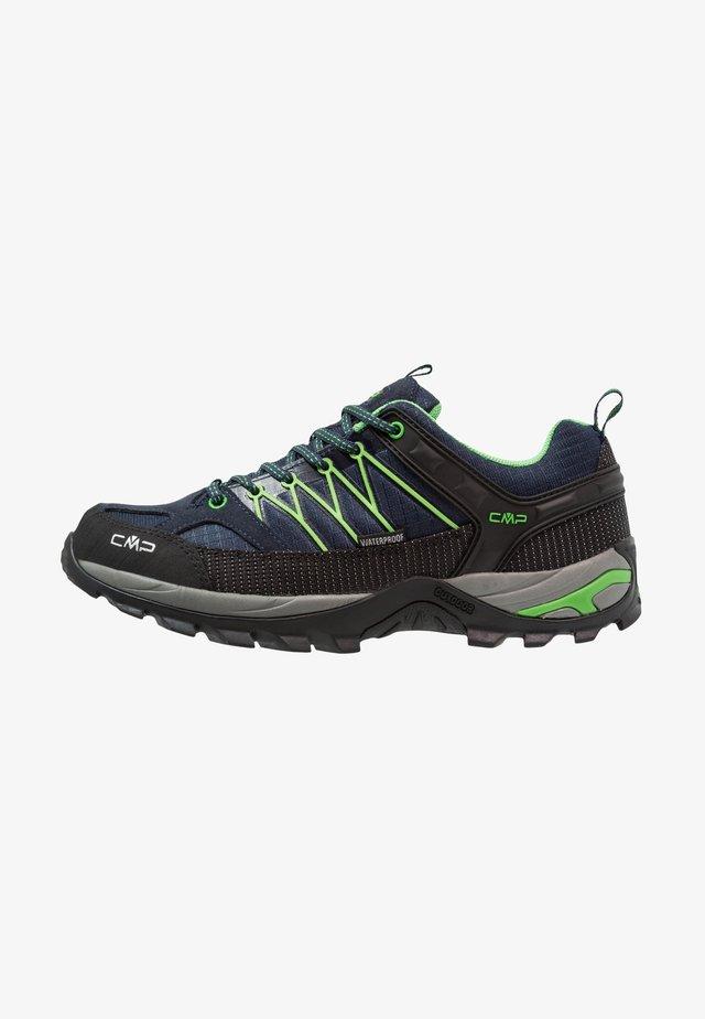 RIGEL LOW TREKKING SHOES WP - Chaussures de marche - blue