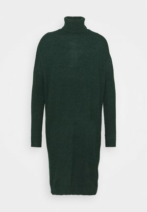 VIRIL ROLLNECK  - Jumper dress - pine grove melange