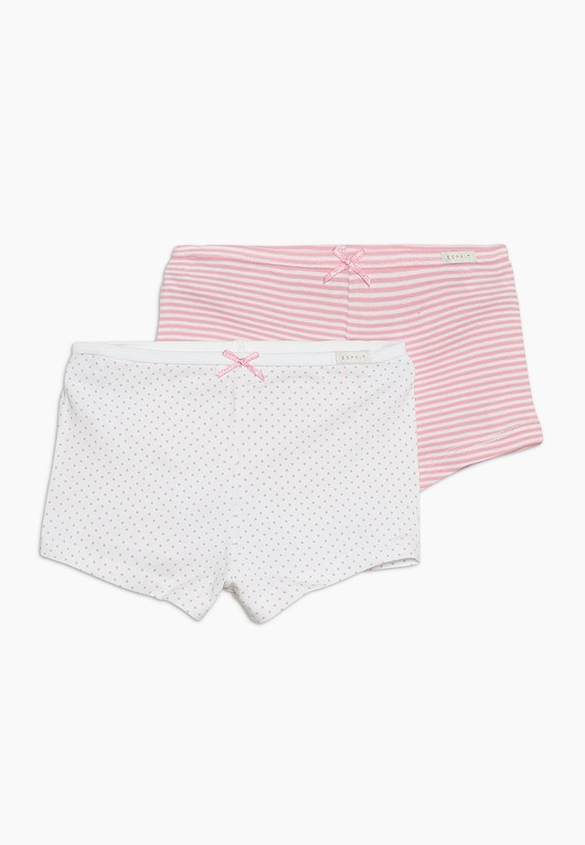 GIRLIE MIX HOTPANTS 2 PACK - Pants - white