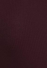 Anna Field MAMA - KNIT DRESS maternity - Vestido de tubo - syrah - 2