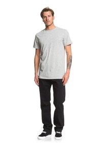 Quiksilver - SEQUEL - Straight leg jeans - black black - 1
