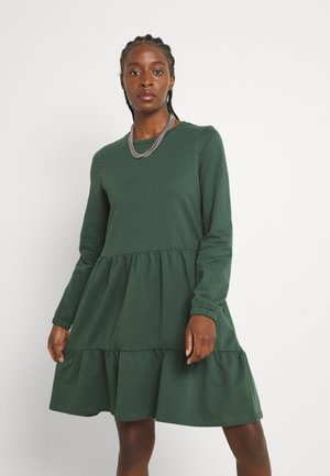 VMAYAOCTAVIA NECK DRESS  - Jersey dress - cilantro