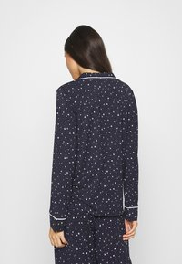 GAP - PIPING - Pyjama top - navy - 2