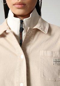 Napapijri - ALIE - Denim jacket - natural beige - 4