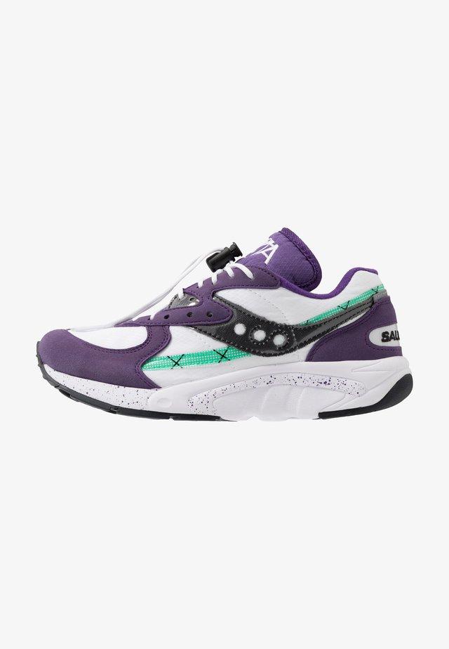 AYA - Baskets basses - violet indigo/white