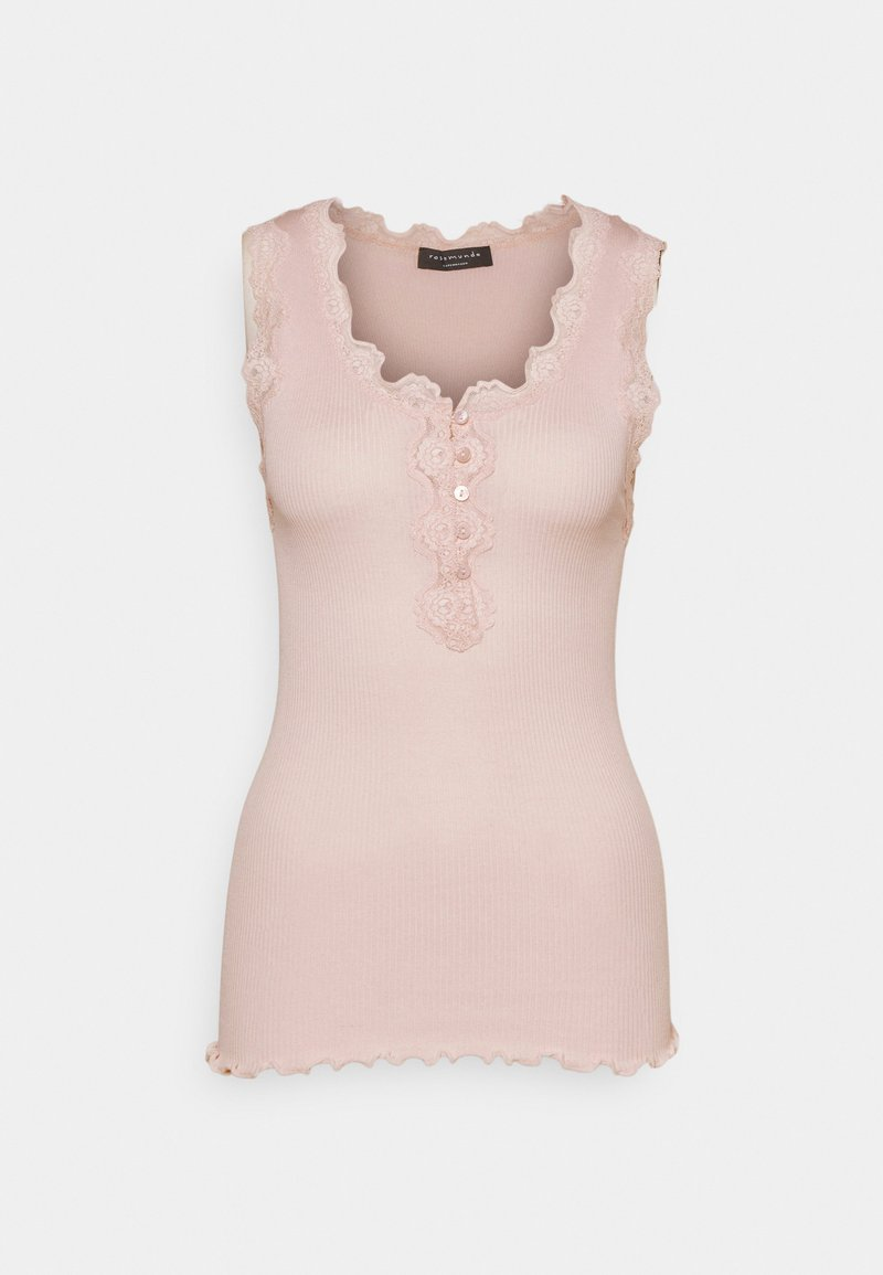 Rosemunde - REGULAR BUTTON - Top - soft rose
