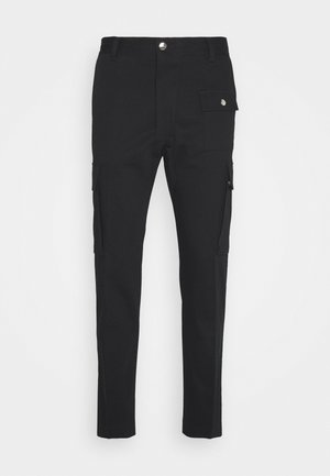P-BRANDEN TROUSERS - Cargo trousers - black