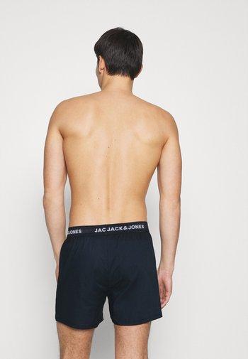 BASIC TRUNKS 3 PACK - Boxer shorts - navy blazer/navy blazer