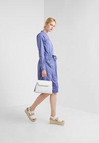 BOSS - ESPIRIT - Shirt dress - dark purple - 1