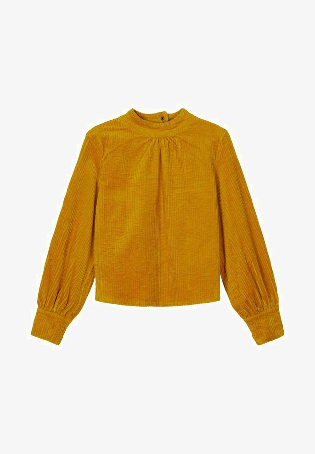 Blouse - nugget gold