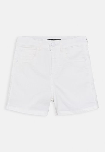 CORE JUNIOR BULL - Denim shorts - true white