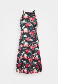 VIBE SINGLET SKIRT SET - A-line skirt - black/red combo