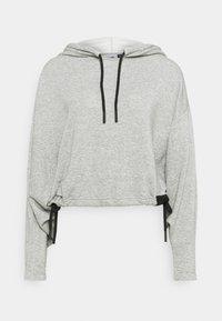 Hoodie - medium grey heather