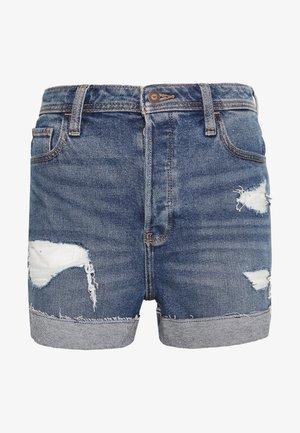 MOM DESTROY  - Denim shorts - medium destroy