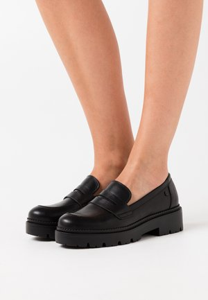 PISA LOAFER - Slip-ons - black