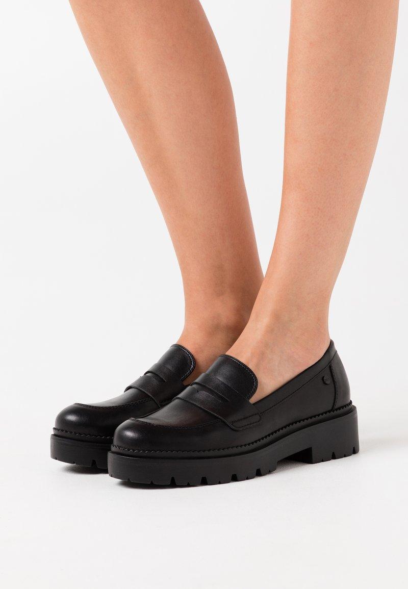 Esprit - PISA LOAFER - Slippers - black