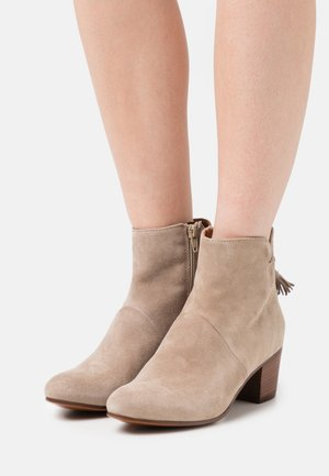 LEATHER - Bottines - brown
