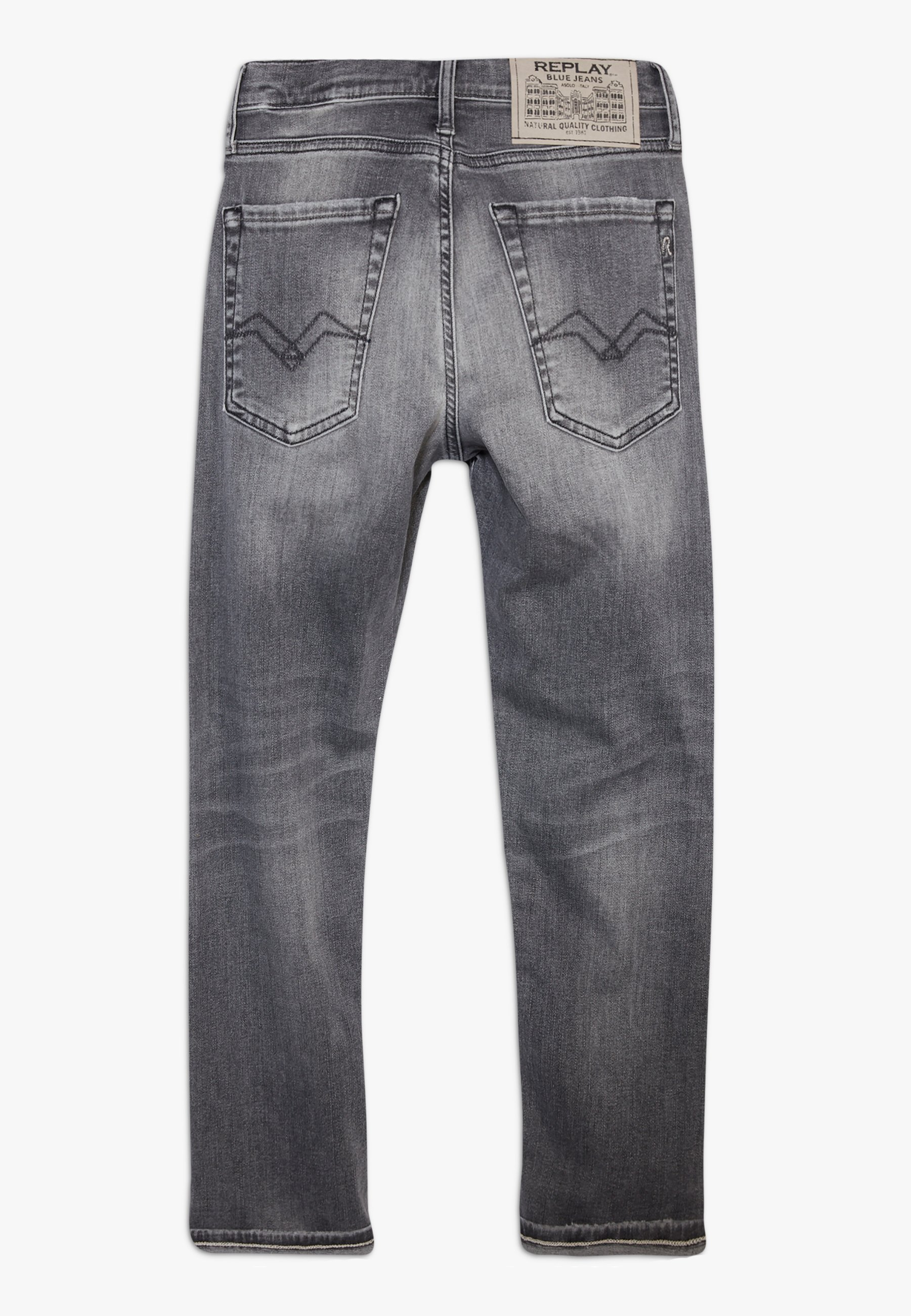 Replay Slim fit -farkut - grey denim DMK65gYj