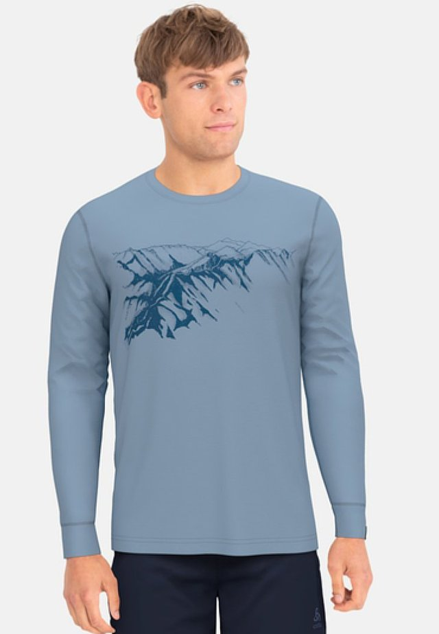 ALLIANCE - Long sleeved top - blue
