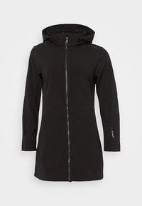 CMP - WOMAN ZIP HOOD - Soft shell jacket - nero - 7