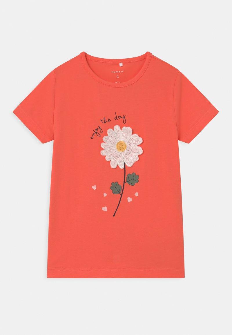 Name it - NMFDARUNA - Print T-shirt - persimmon