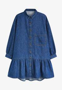 Next - Shirt dress - blue denim - 0