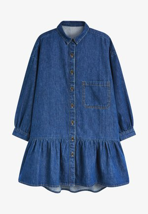 Blusenkleid - blue denim