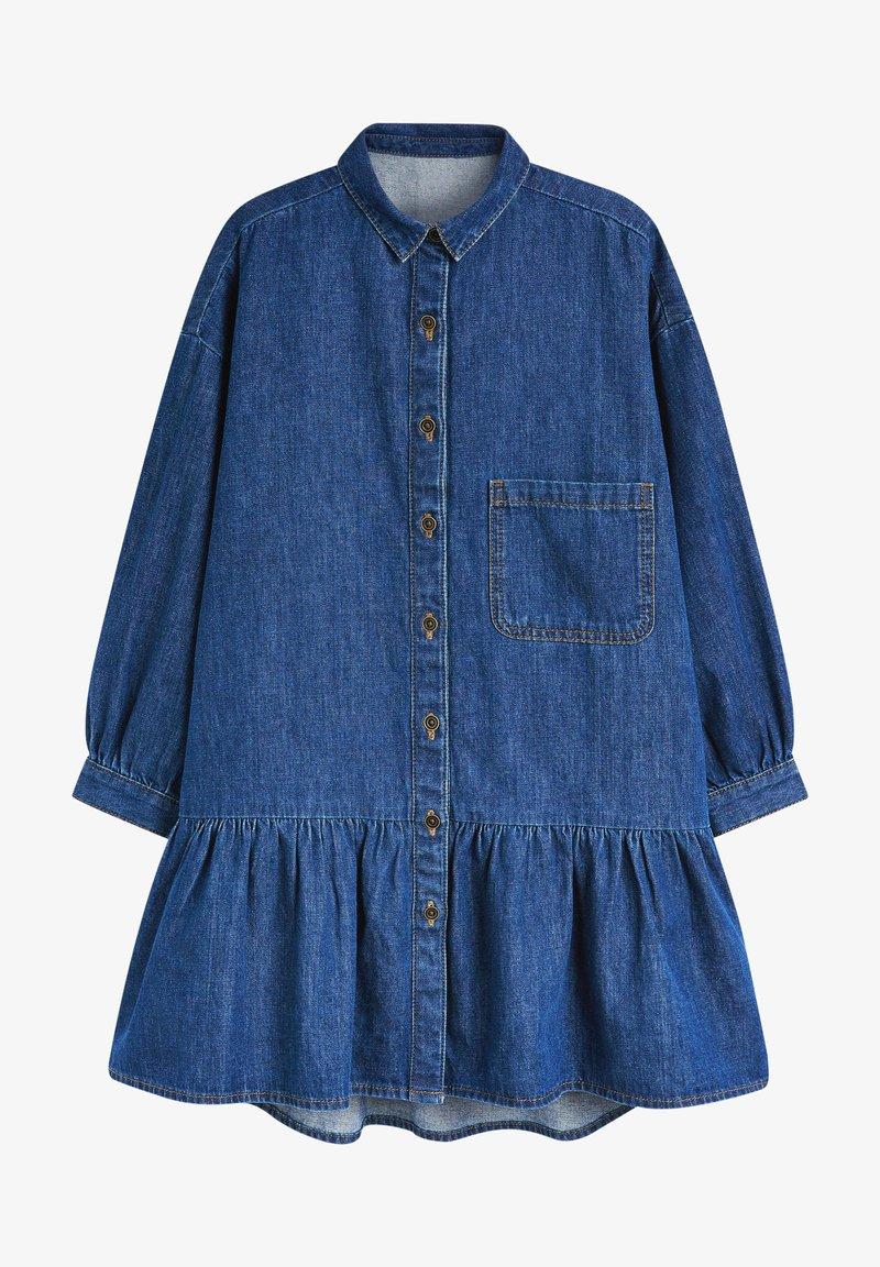Next - Shirt dress - blue denim