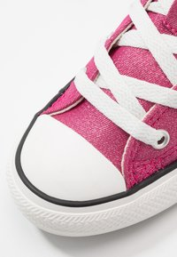 Converse - CHUCK TAYLOR ALL STAR - High-top trainers - cerise pink/natural ivory - 2