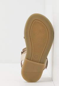 Friboo - LEATHER - Sandales - gold - 5