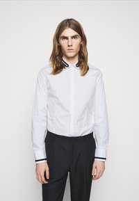 Neil Barrett - TUXEDO GROGRAIN TAPE COLL - Shirt - white/black - 0