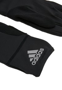 adidas Performance - GLOVES - Gloves - black/black/reflective silver - 5
