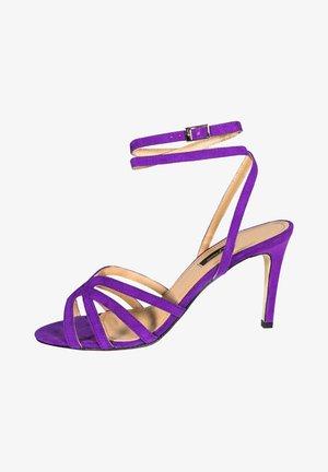GRETA - Højhælede sandaletter / Højhælede sandaler - royal purple