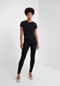 HUGO - THE PLAIN TEE - Basic T-shirt - black - 1