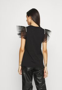 River Island - Print T-shirt - black