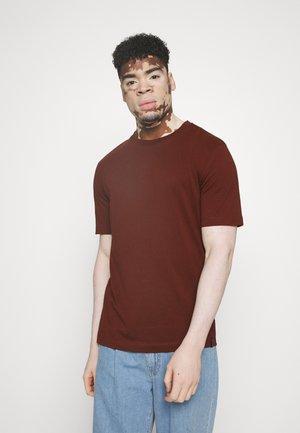 ORGANIC  - T-shirt - bas - bordeaux border