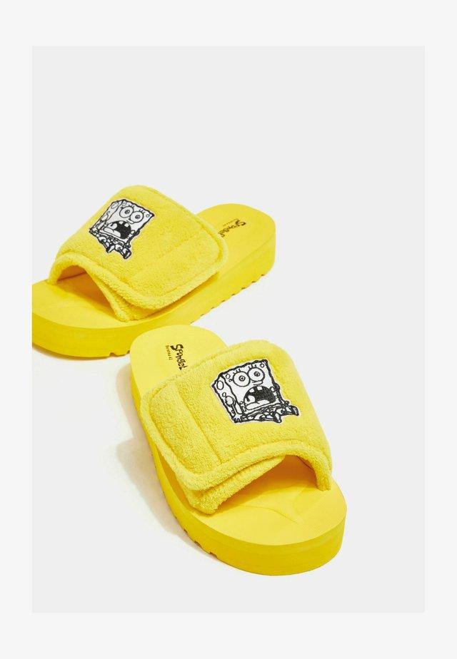 Domácí obuv - light yellow