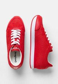 Desigual - GALAXY LOTTIE - Zapatillas - red - 2