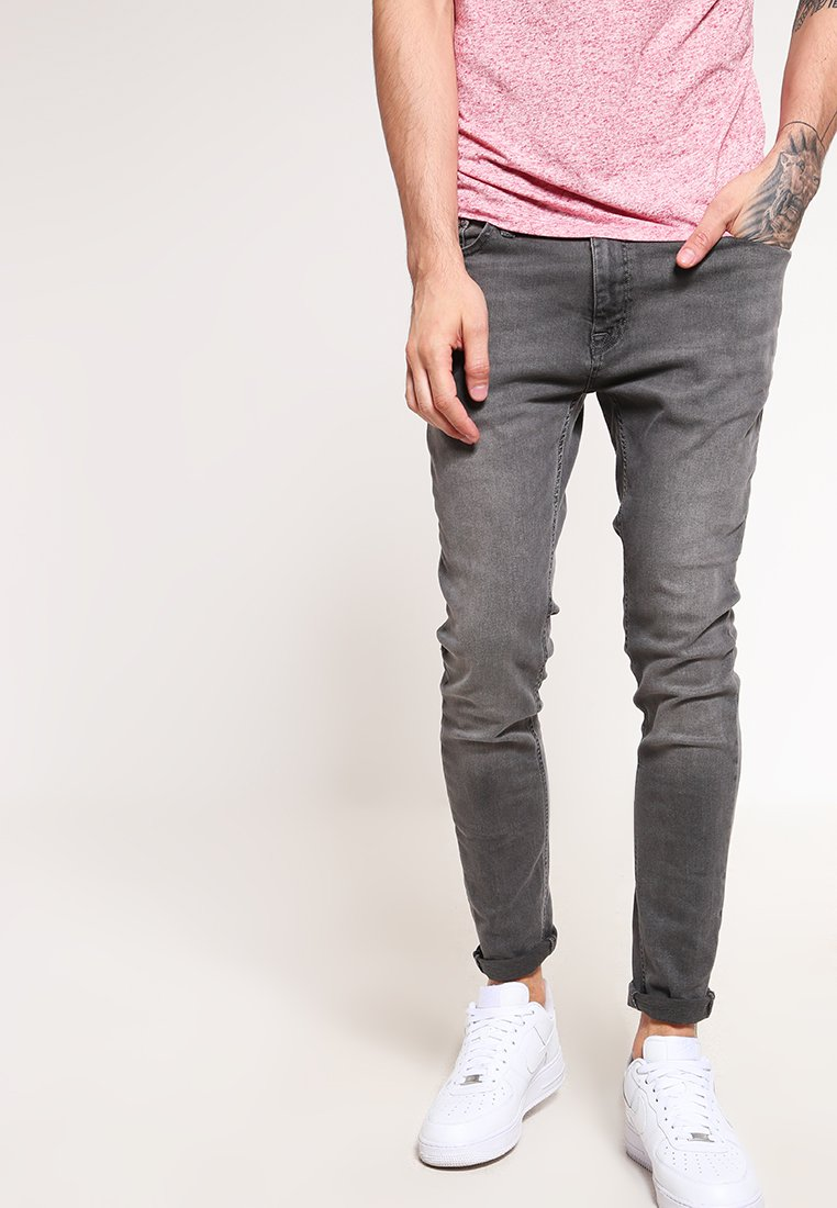Jack & Jones - JJILIAM JJORIGINAL  - Jeansy Skinny Fit - grey denim