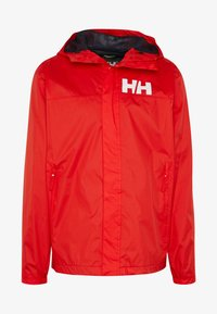 Helly Hansen - ACTIVE JACKET - Regnjakke / vandafvisende jakker - alert red - 3