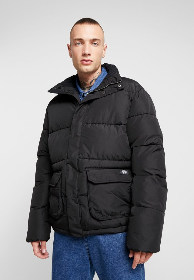 OLATON JACKET - Winter jacket - black