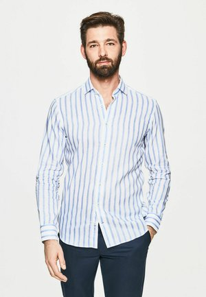 STRIPE - Shirt - blue white