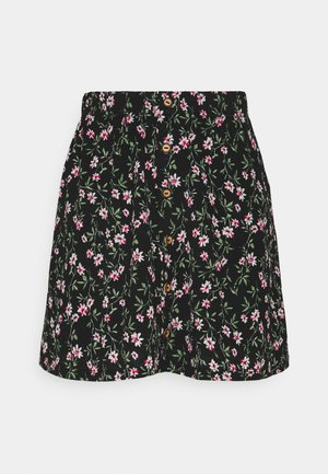 ONLPELLA SHORT SKIRT - Minisukně - black