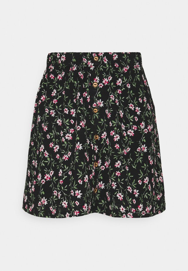 ONLPELLA SHORT SKIRT - Mini skirt - black