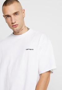 Carhartt WIP - SCRIPT EMBROIDERY - Basic T-shirt - white - 4