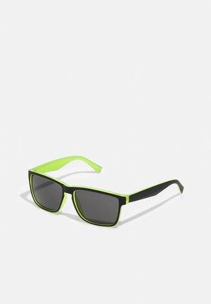 PRIDE - Sunglasses - black/neon yellow
