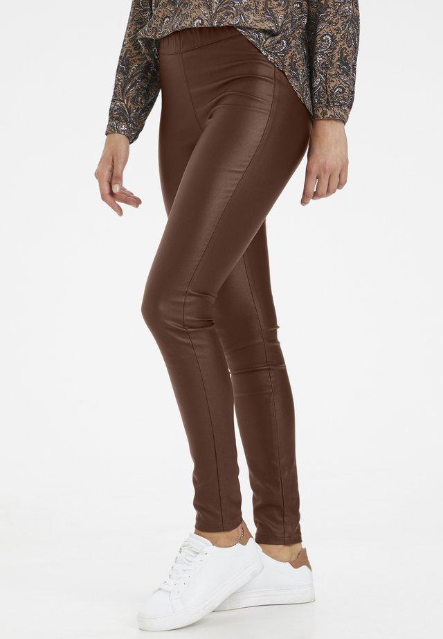 Jeggings - brown