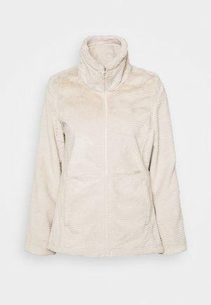 HELOISE - Fleece jacket - light vanilla
